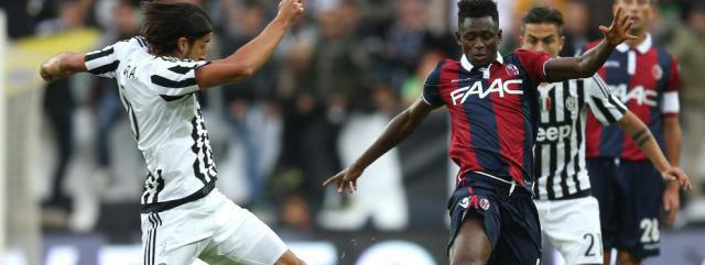 Calcio: Un Bologna a metà regge soltanto un tempo contro la Juventus