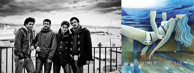 """Arbitri Elegantiae: """"Canto da un pezzo di storia"""" è il primo singolo del nuovo album"""