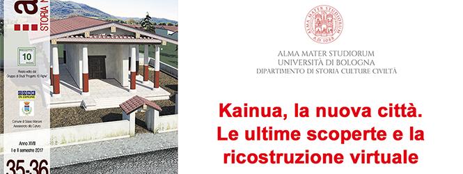 Un aggiornamento sulla città etrusca di Marzabotto: Kainua, la città nuova.