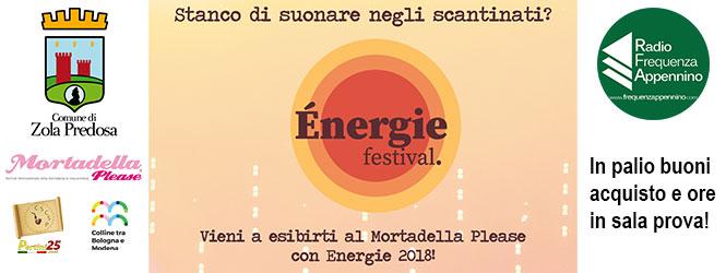 Energie Festival: esibisciti live e vinci!