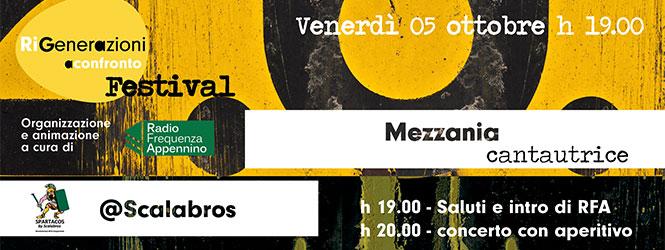 RiGenerazioni a Confronto Festival va tappa a Bazzano sulle note di Mezzánia
